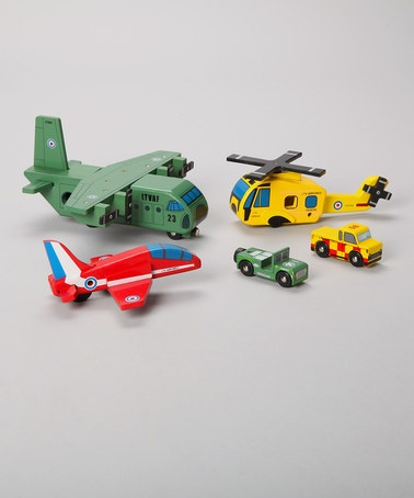 only £10!! #bargain Flight Display Set by Le Toy Van on #zulilyUK today!