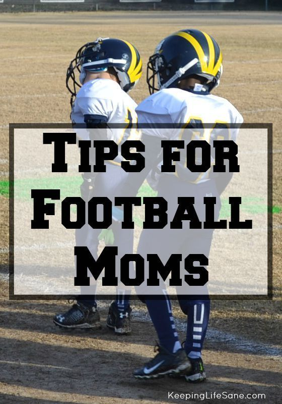 Tips for Football Moms - Keeping Life Sane