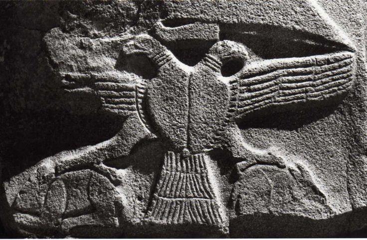 Hittite, relief two headed eagle, Alacahöyük, 1400 BC, Museum of Anatolian Civilisations, Ankara