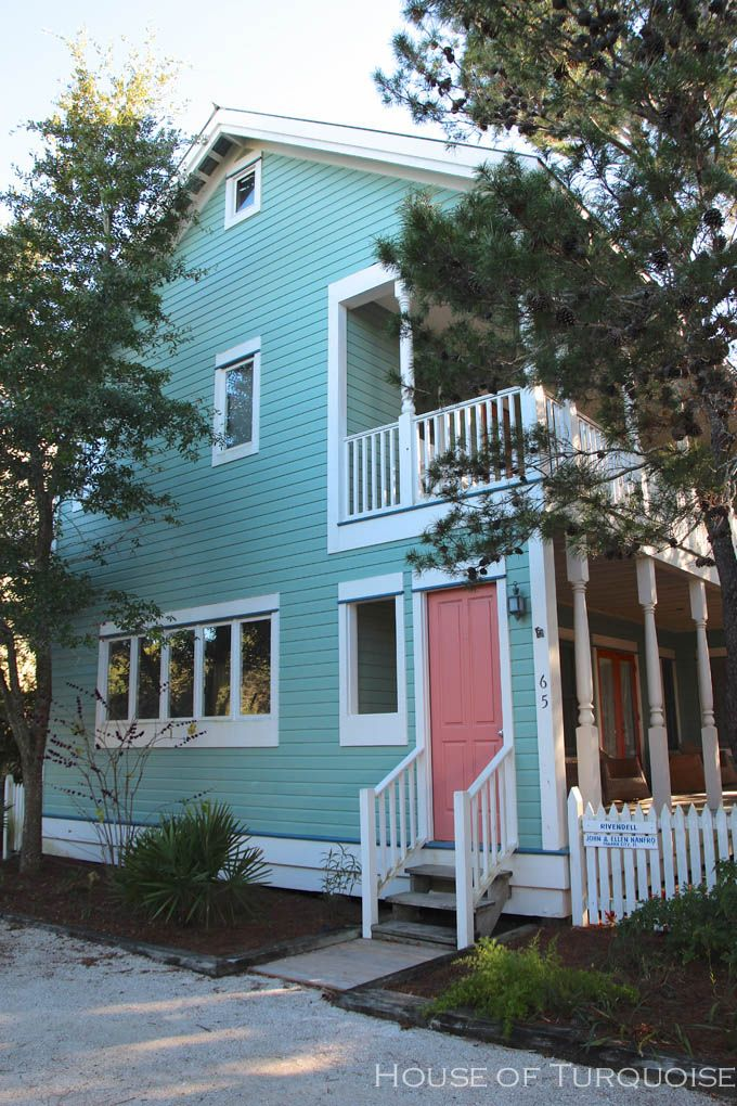17 best images about seaside florida on pinterest for Florida exterior paint colors