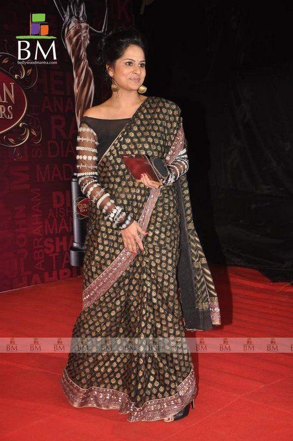 Now that is a feature rich saree saree blouse design designer saree