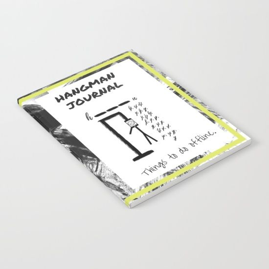 Hangman Journal Notebook