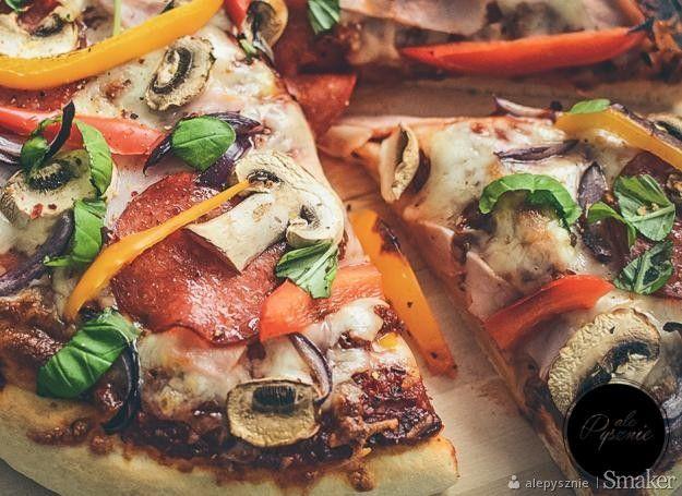 Najlepsza domowa pizza.