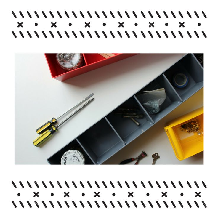 The Spare Parts Trays can be used on their own or inside racking you already have. It features plastic dividers that can be used to organise and store anything from nails, bolts, nuts or tool parts.