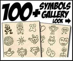 Info about Taino Symbols Petroglyphs Rock Engravings