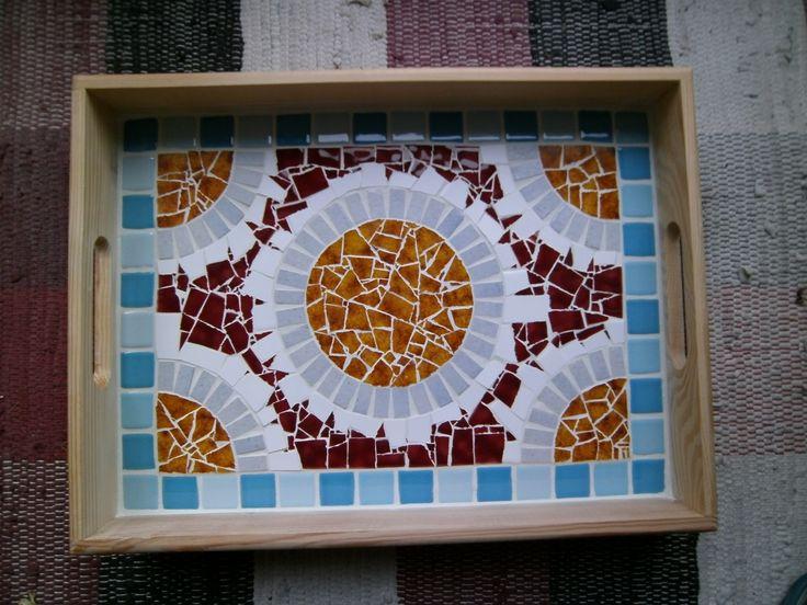 Mosaik Tablett , Tray
