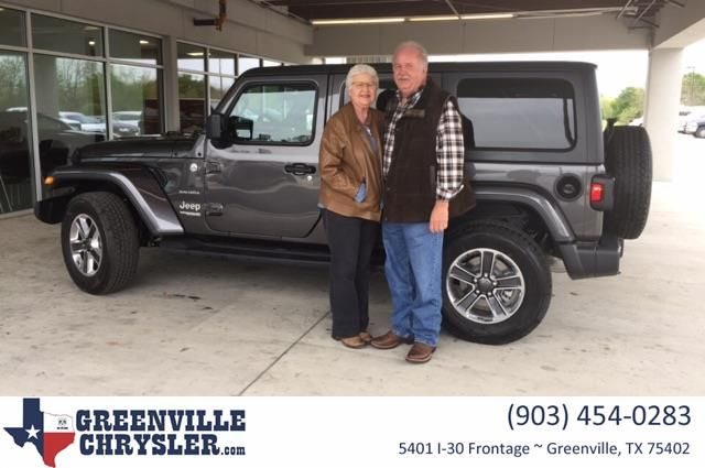 Congratulations Larry And Rosi On Your Jeep Wrangler Unlimited
