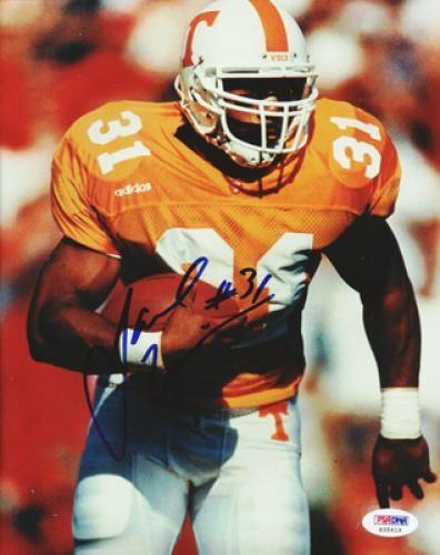 Jamal Lewis Autographed 8x10 Photograph - PSA/DNA #SportsMemorabilia #TennesseeVolunteers
