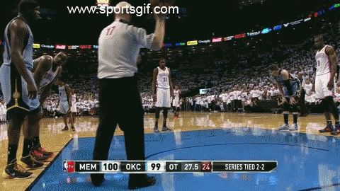NBA ref Joey Crawford takes the ball from Kevin Durant and costs them the game