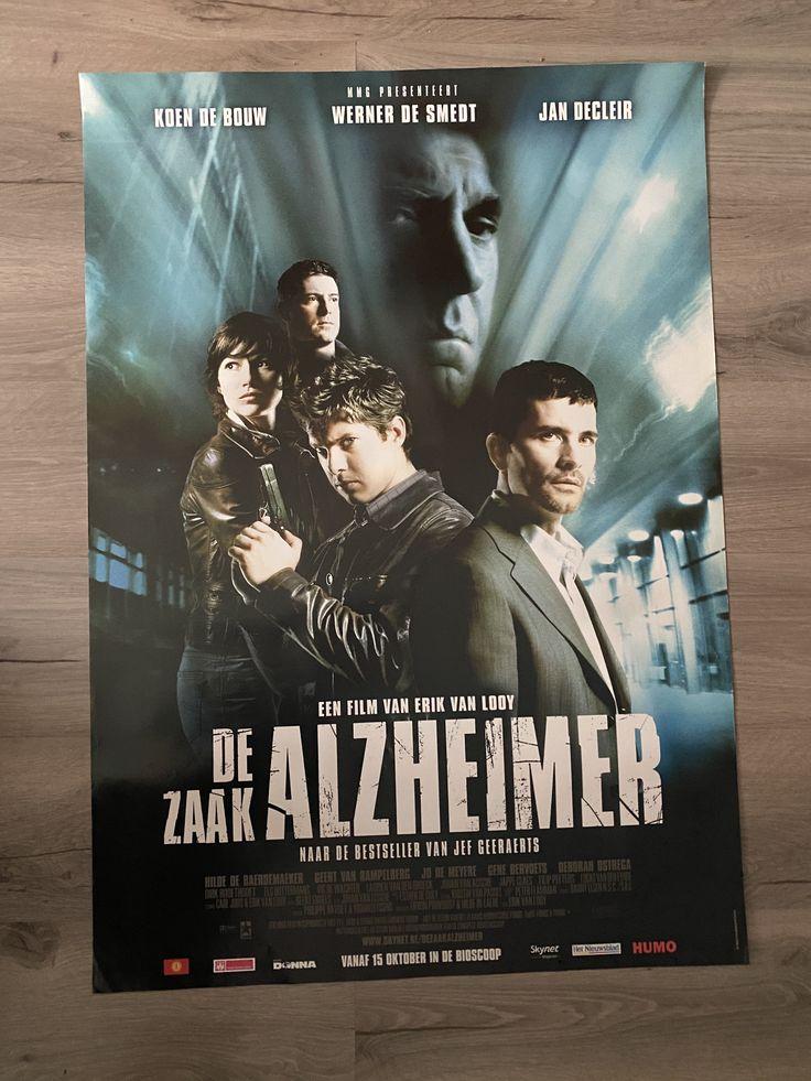 De Zaak Alzheimer Filmposter in 2020 Filmposter, Film