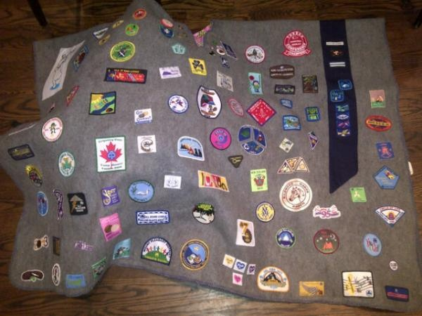 Guider Hillary's Camp Blanket by Girl Guides of Canada, via Flickr