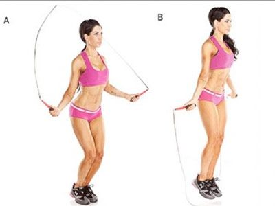 Salte à corda para reduzir a gordura corporal e perder peso