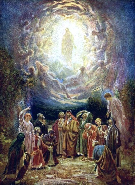 The Glorious Mysteries The Ascension To Heaven