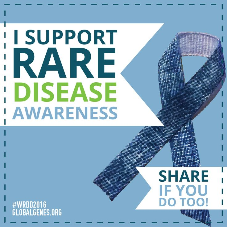 Share if you support Rare disease awareness!