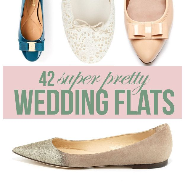 42 Pairs Of Wedding Flats To Keep You Comfy Cute On Your Big Day