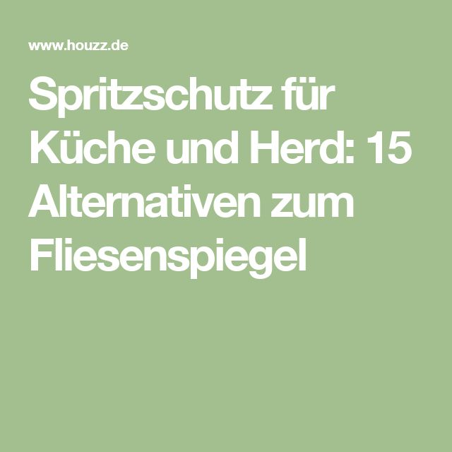 De 25 bästa idéerna om Spritzschutz herd – bara på