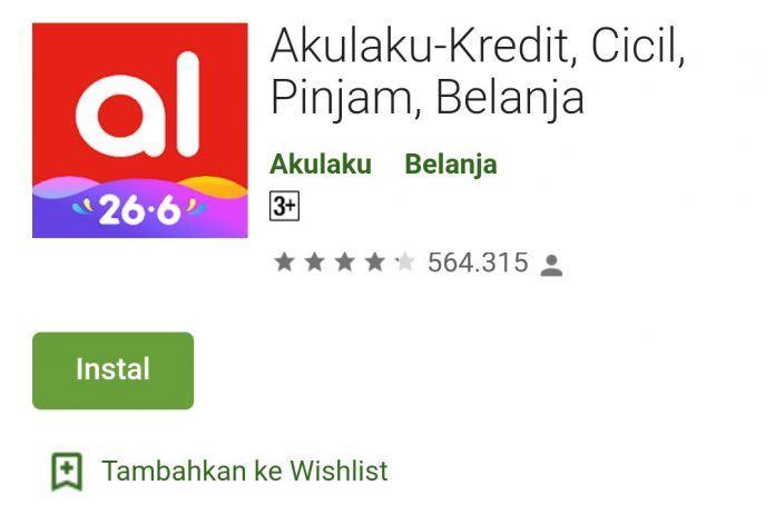 Review Aplikasi Akulaku Tawaran Kredit Belanja Dan Pinjaman Online 24jam Cair Warna Biru Pinjaman Aplikasi Belanja