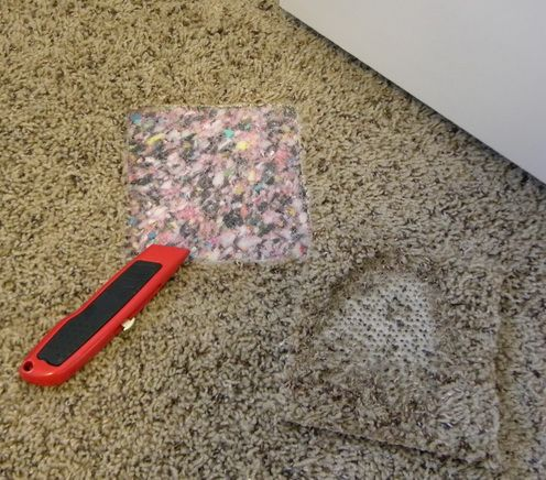 How To Fix A Carpet Burn From An Iron – Easy DIY Repair