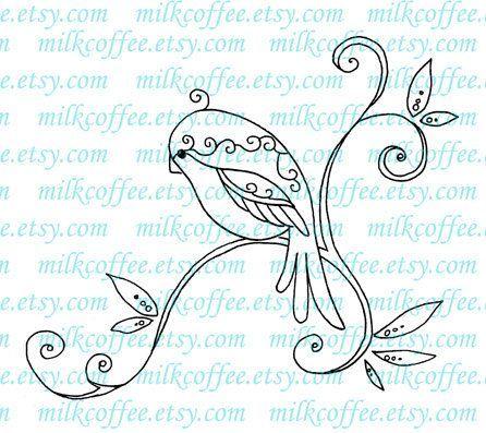 swirly birdy.