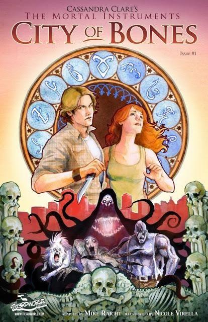Para los amantes de Cazadores de sombras, lo último sobre las novelas gráficas