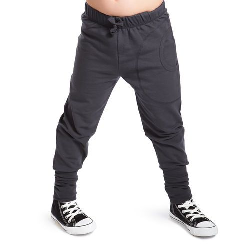 NOSH Jogger Trousers, Graphite. organic cotton