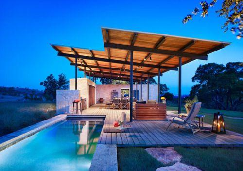 sweet pool area
