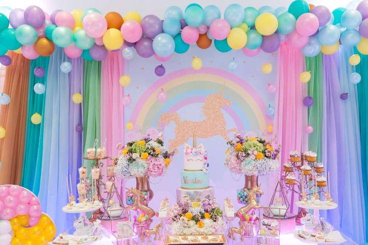 Unicorns Birthday Party Ideas   Photo 1 of 15