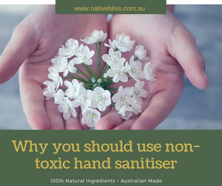 Why You Should Use Non Toxic Hand Sanitiser Nativebliss