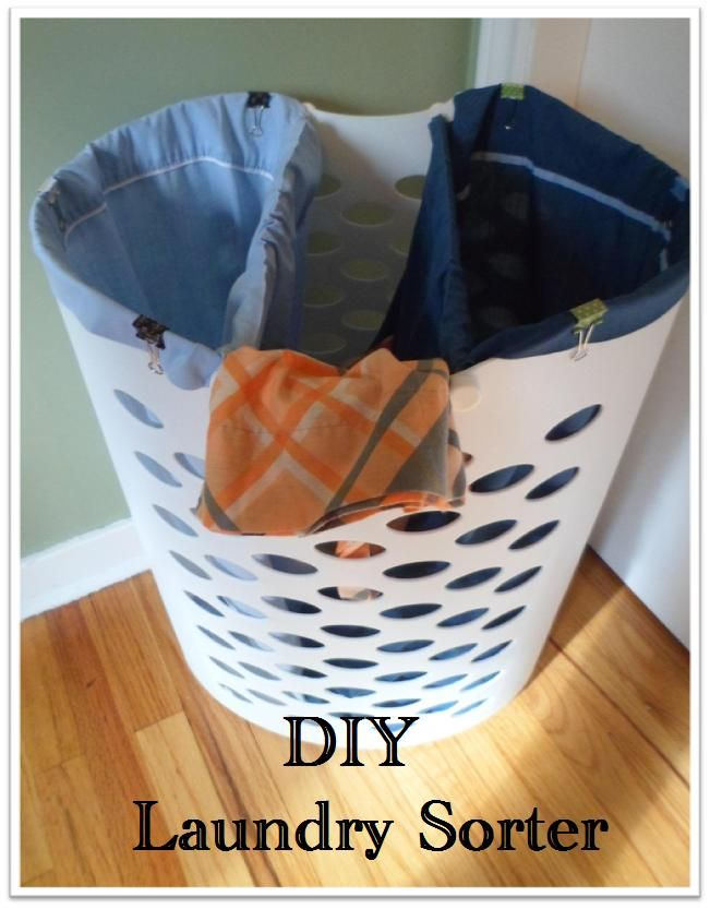 Diy Laundry Sorter This Soul Be Great In The Boys Room To