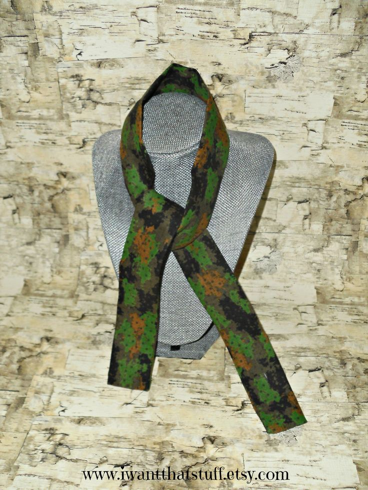 Camo Print Cooling Scarf