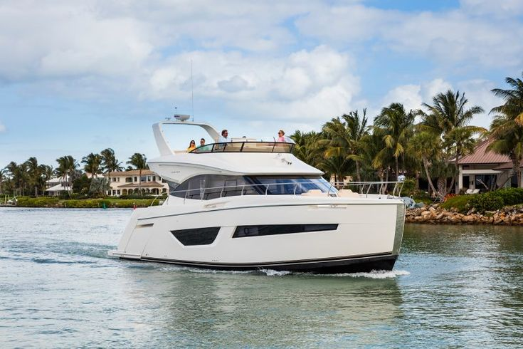 Carver Yachts is continuing to chart a new course in the mid-size, luxury-yacht market with the introduction of its new C52 Coupe at the 2016 Fort Lauderdale International Boat Show. With its full beam master stateroom with private head and separate shower, spacious forward guest stateroom and head plus large third stateroom, the new C52 Coupe is raising the bar for luxury and cruising comfort. With its plumb bow and distinctive raised sheerline, the C52 Coupe is uniquely designed to offer…