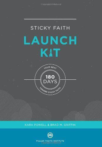 Sticky Faith Launch Kit: Your Next 180 Days Toward Sticky Faith by Kara Powell et al., http://www.amazon.com/dp/061586144X/ref=cm_sw_r_pi_dp_J75jtb0B77JA4