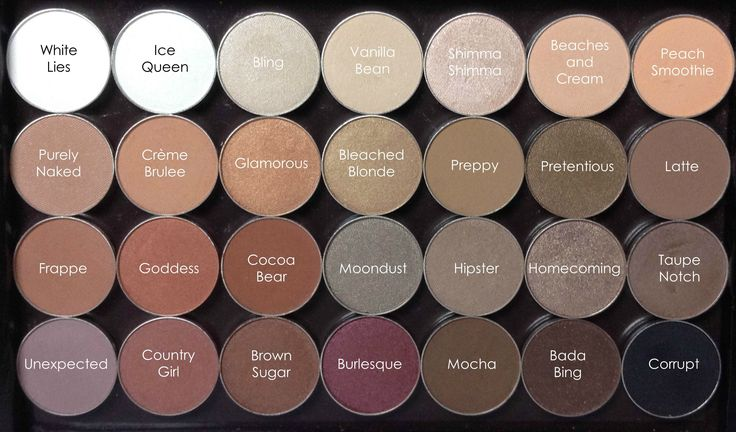 For my fellow Neutral Lovers <3  Get ideas for your own Customized Makeup Geek Neutral Eyeshadow Palette!  Full review (including swatches) included in the post.