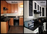 A retro dining room & kitchen makeover with '50s style & chalkboard paint