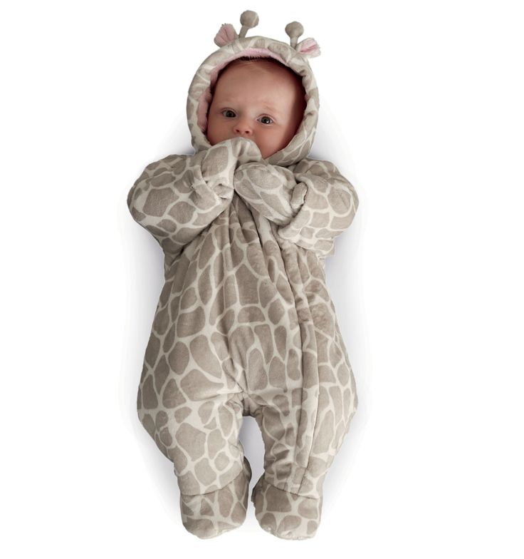 Mothercare Fluffy Giraffe Snowsuit Baby Unisex Baby