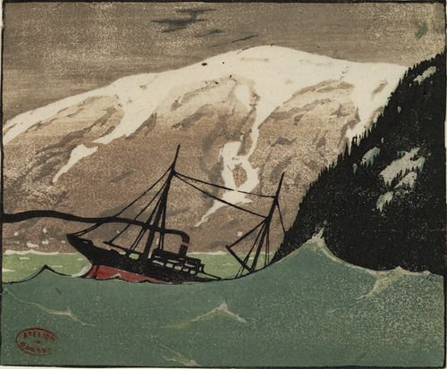 the heavy sea by clarence gagnon