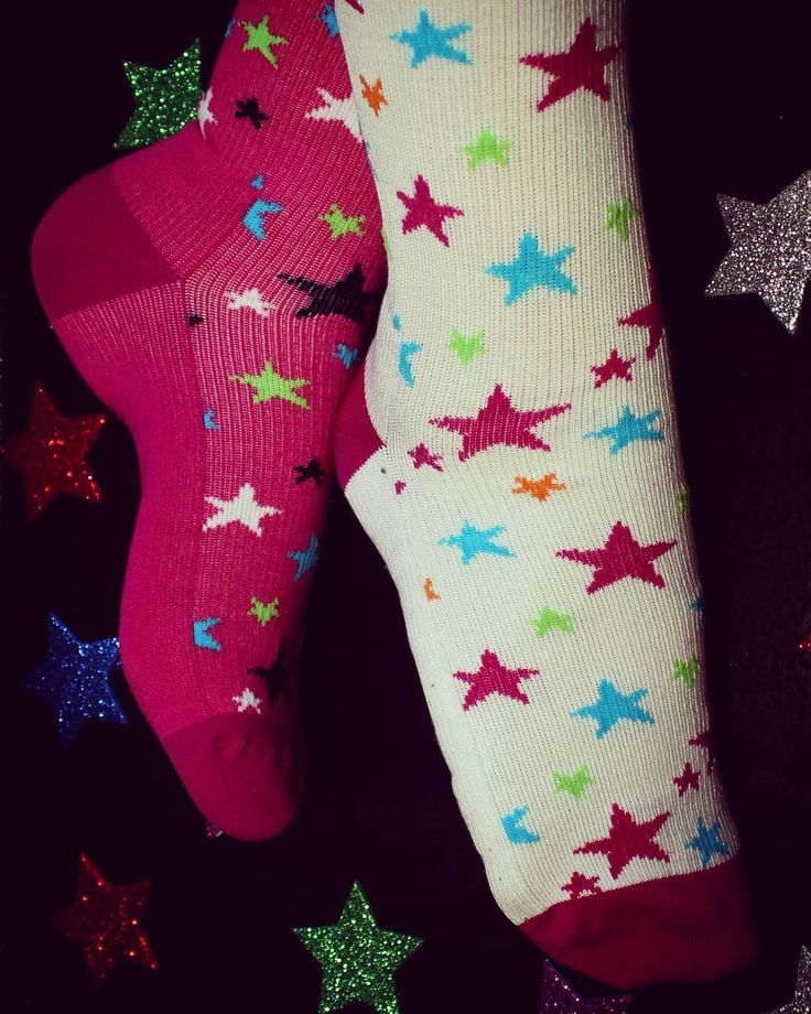 Reach for the stars met de leuke steunkousen van Butik21! Butik21.nl | €14,90