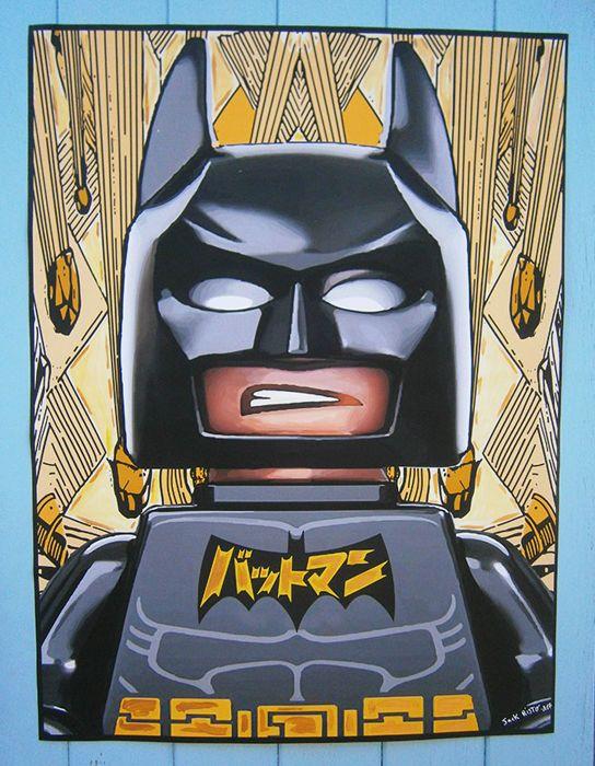 Jack Risto - Batman boos  Batman boosAcryl verf goud op poster afdrukkenSchilderij van grootte: 666 cm x 49 5 cmÉén stuk - ondertekend met de hand - 2017Anti-UV-lak glanzendZorgvuldig verpakt en bijgehouden internationale perceel.------------------------------------------------------Jacques Ristorcelli (alias Risto) studeerde aan de nationale School voor Schone Kunsten in Bourges. Hij woont en werkt in Aix-en-Provence.Een van de pioniers van de video van de kunst in de vroege jaren 1980…
