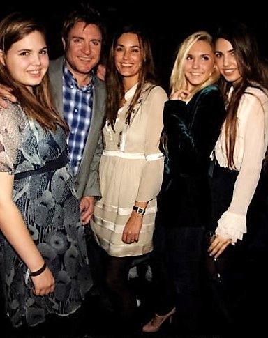 Yasmin &  Simon Le Bon w/  Daughters