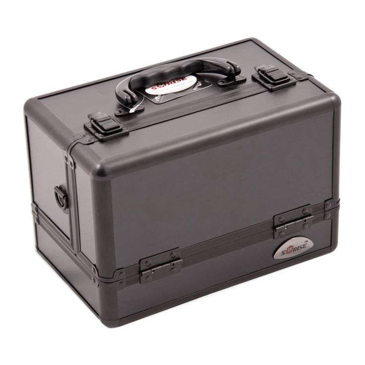 JUSTCASE Sunrise 3-Tiers Expandable Trays All Makeup Case