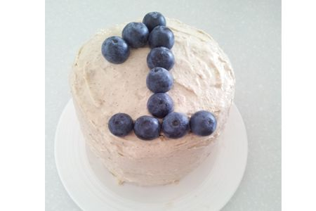 Diy Healthy Birthday Cake Idea For Her At Work