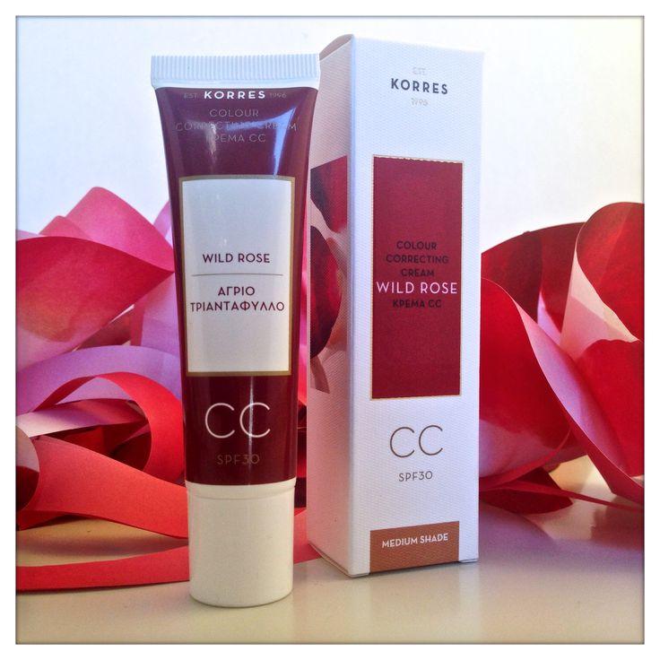 Wild Rose CC Cream #korres_skincare #wildrose