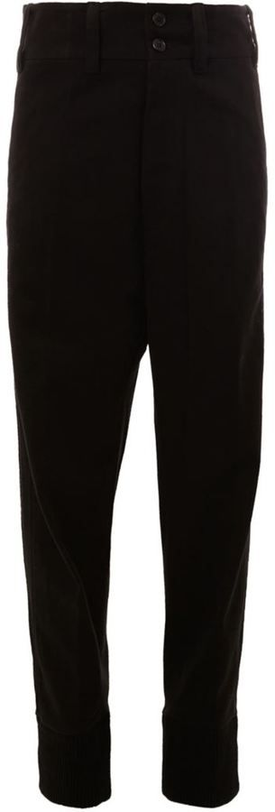 Ann Demeulemeester drop crotch pants