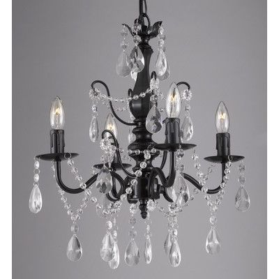 Bathroom Chandeliers Black best 25+ plug in chandelier ideas on pinterest | plug in wall