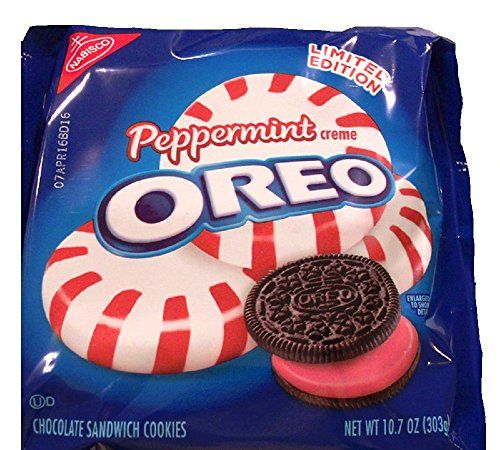Oreo Limited Edition Peppermint Sandwich Cookies (10.7-Ou...