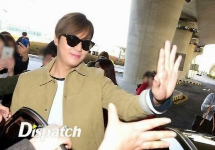 Arrival, Incheon International Airport - 19.03.2015