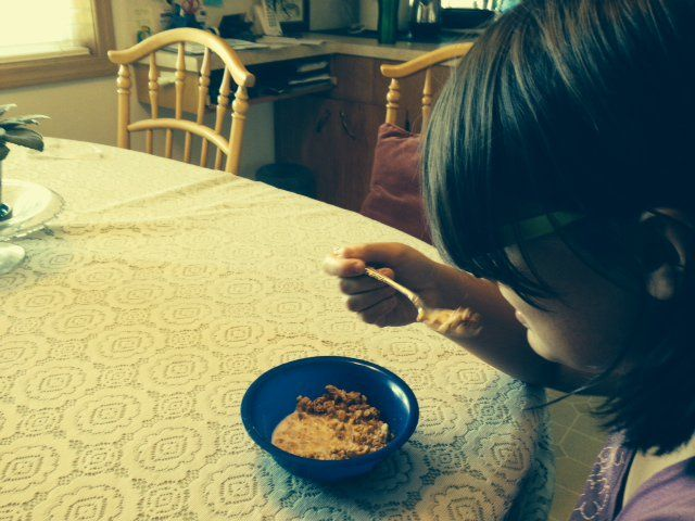 Research which shows that high-fibre breakfasts may help children to avoid developing diabetes