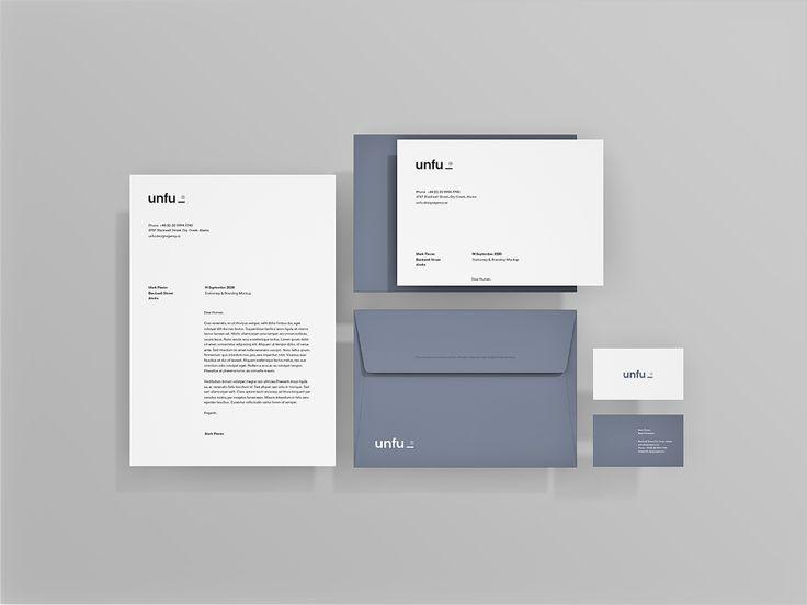 Simple Branding Mockup Free Mockup Branding Mockups Branding Mockups Free Stationery Design Branding