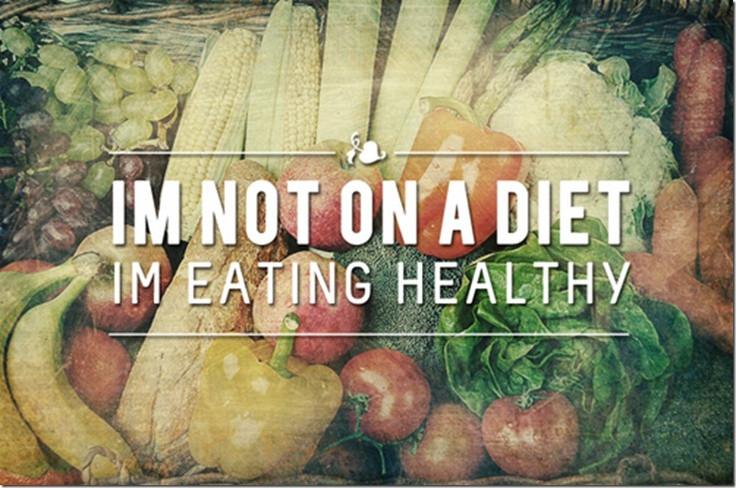 When people ask you why you choose to eat well, tell them this!