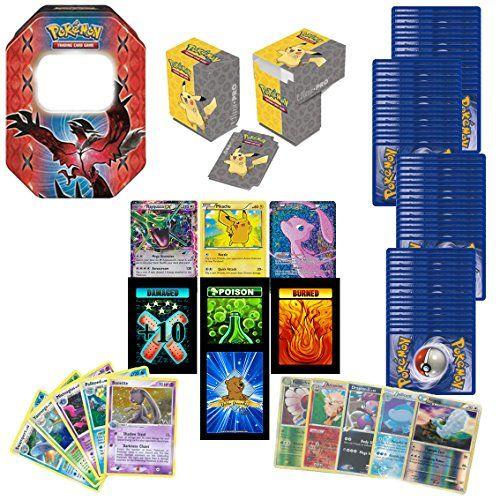100 Assorted Pokemon Cards with 2 Ultra Rares! Bonus 20 Foils + Pokemon Deck Box + Pokemon Tin! Plus Bonus 3 Free Golden Groundhog Token Counters! GoldenGroundhog http://www.amazon.com/dp/B016AH3LNO/ref=cm_sw_r_pi_dp_EhQlwb0SAMDFD